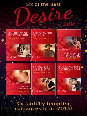 cover image of Six of the Best of Desire 2016
